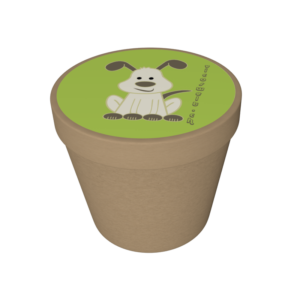 "Biobecher ""grüner Hund"""